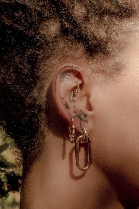 Pamela Love Suspension Hoops Earrings
