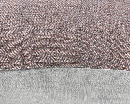 SSEN Handwoven Geo X Pillow Cover - Natural Plaid