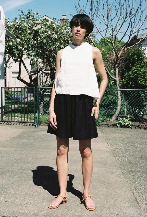 Correll Correll Summer Rolli Tank - white