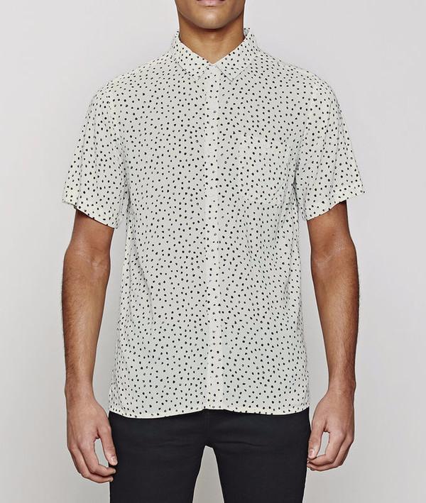 Men's Native Youth Paintbrush Dot Shirt