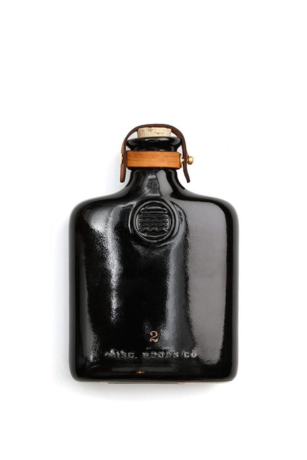 Men's Misc Goods Co Ceramic Flask Black