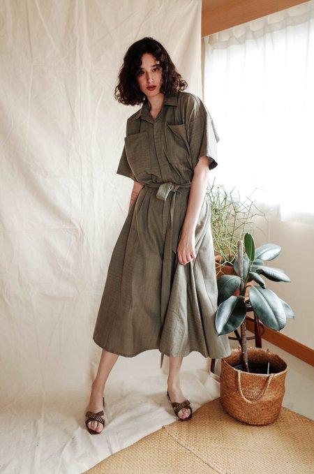 Seeker x Retriever Painter Dress - Grey