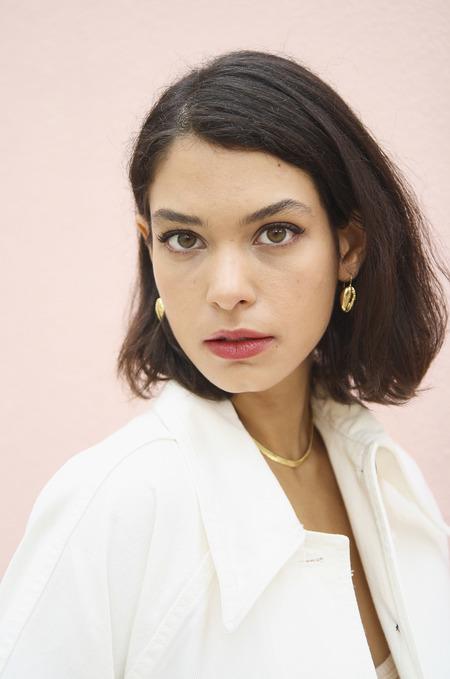 Eyland Cressida shell earrings - gold