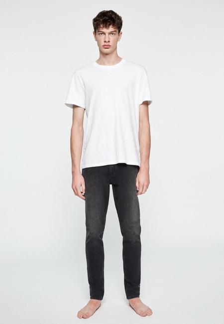 Armedangels Iaan Slim Fit Denim Jeans - Used Black