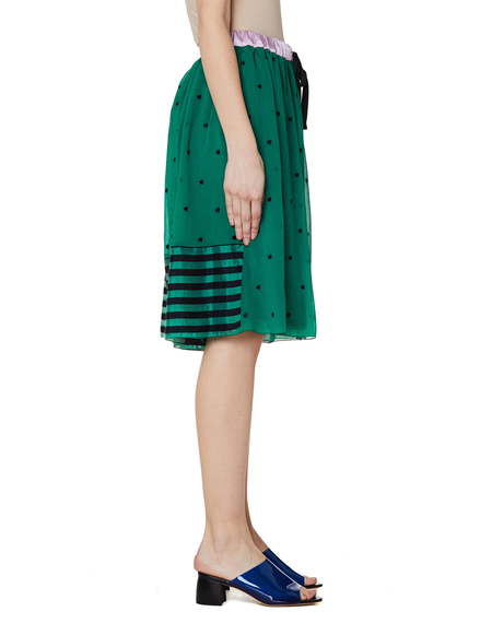 Undercover Embroidered Shorts - Green
