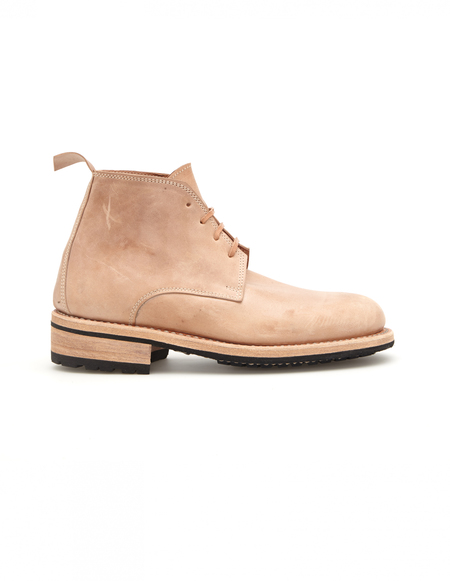 Guidi x Rosellini Chukka Boots - Beige