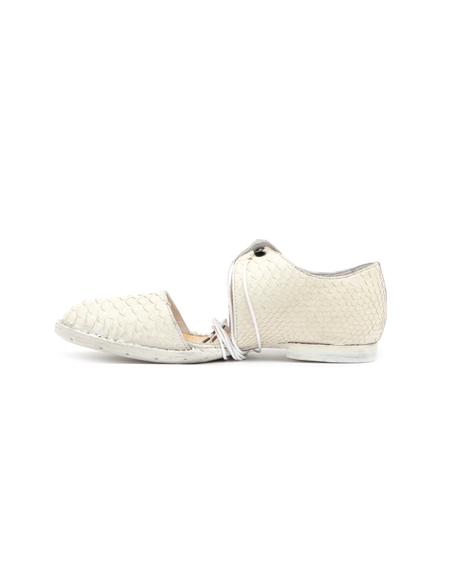 Barny Nakhle Python Leather Boots