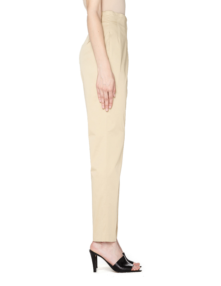 The Row Cotton Trousers - Beige