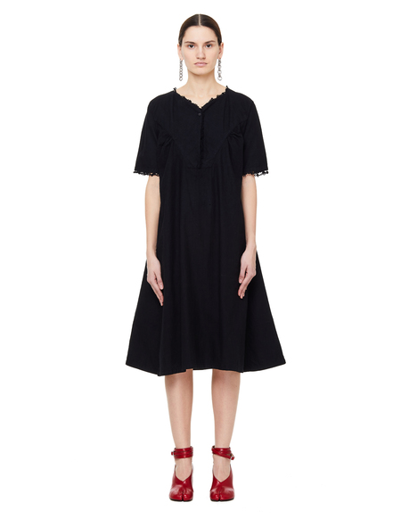 Blackyoto Flare Dress - Black