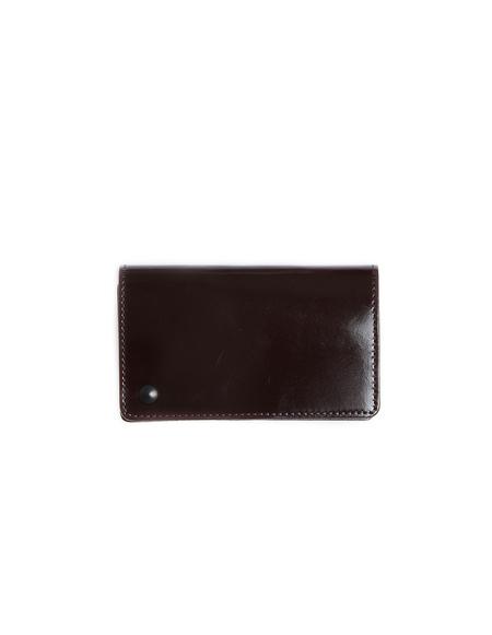 Yohji Yamamoto Polished Leather Cardholder