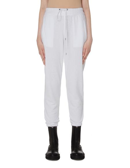 James Perse White Cotton Sweatpants