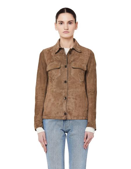 Salvatore Santoro Suede Shirt Jacket - Beige