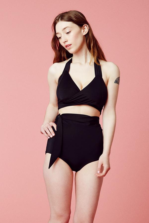 Samantha Pleet Whirl Bikini Top