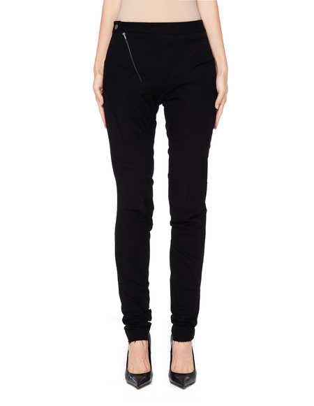 Leon Emanuel Blanck Distressed Cotton Trousers - black