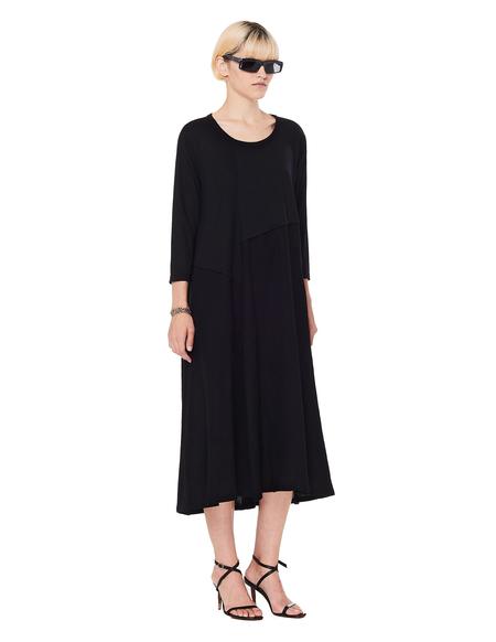 Y's Black Wool Dress