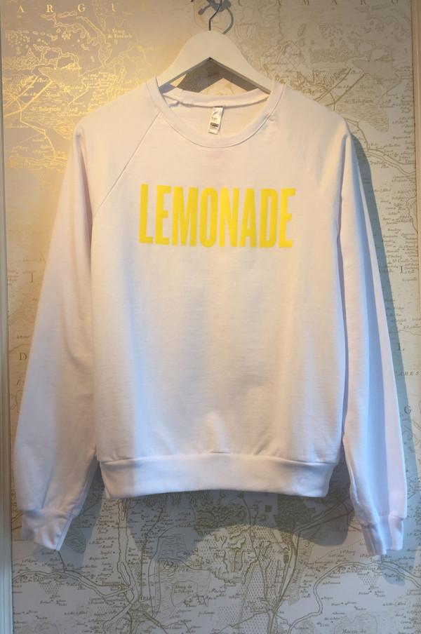 Rebecca Bree Custom 'Lemonade' sweatshirt