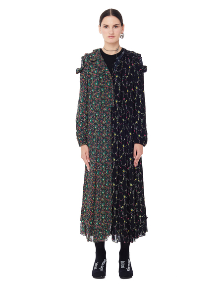 Junya Watanabe Flower Printed Dress - Multicolor