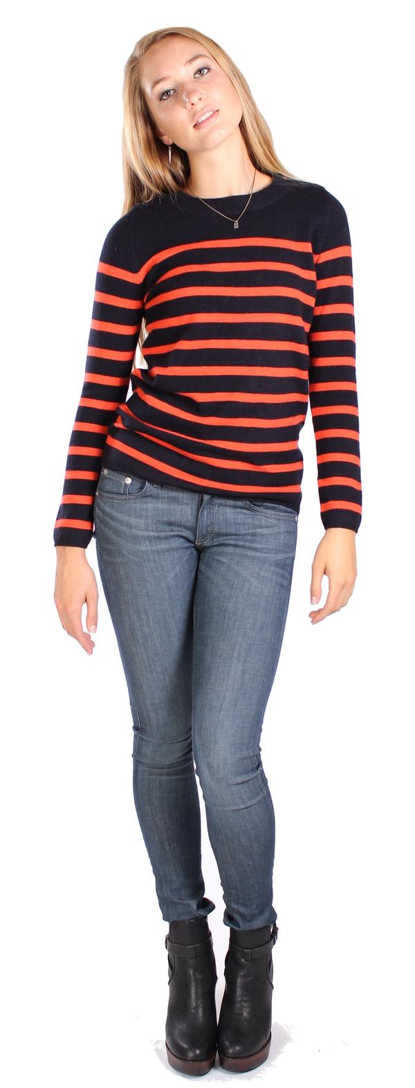 Chinti & Parker Guernsey Stripe Sweater