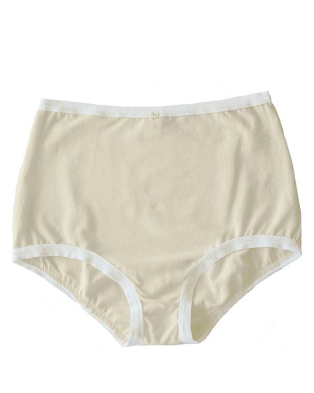 Botanica Workshop Astra Organic Cotton Hi-Waist Brief (Pack of 3 ) - Natural