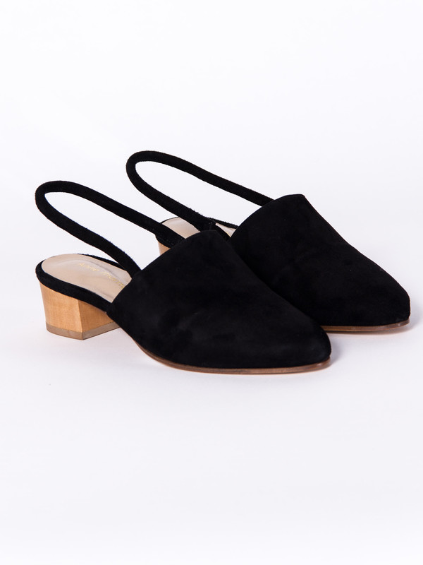 Anne Thomas Williamsburg Shoe Black