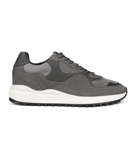 Android Homme Santa Monica Sneaker Stingray Suede - Grey