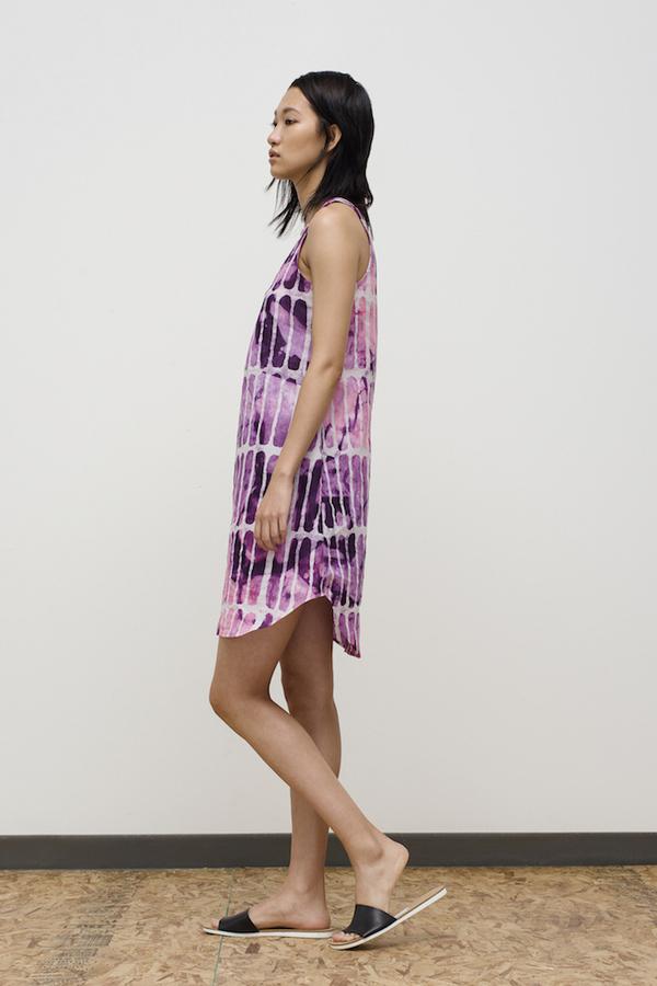 Osei-Duro Runa Dress in Fuchsia Chalk