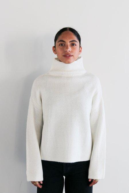John and Jenn Luca Turtleneck Sweater - Ivory