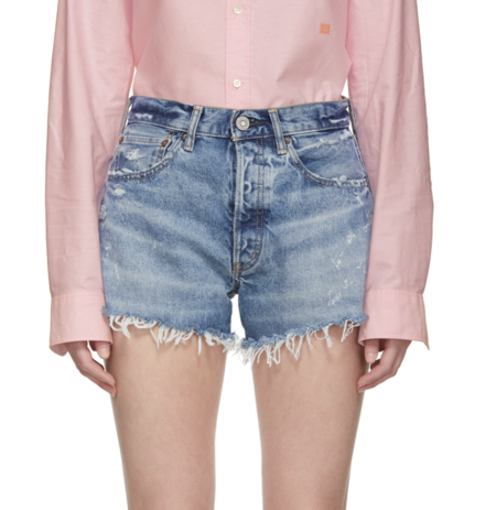 MOUSSY Wisconsin Shorts - Blue