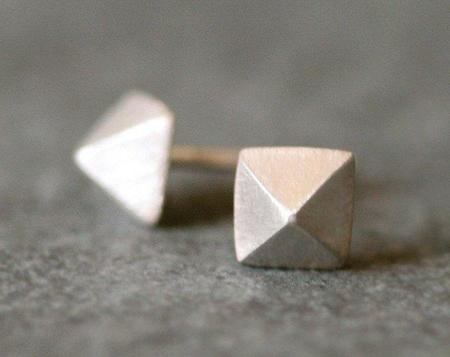 Michelle Chang Pyramid Studs