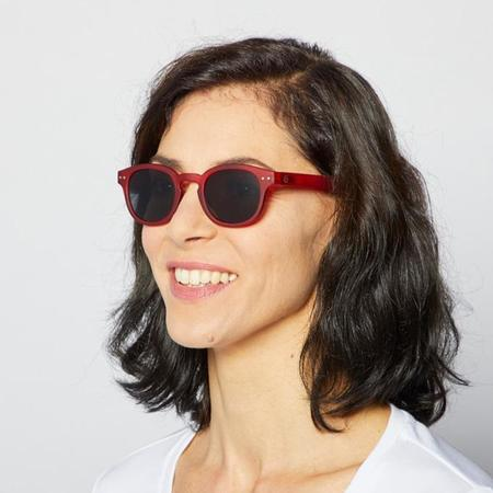 Unisex Izipizi Sunglasses - C-Red