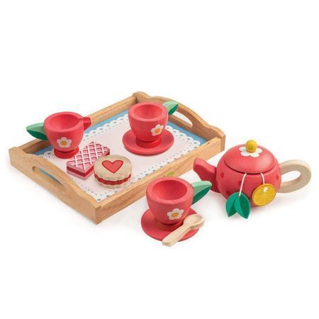 kids Tender Leaf Toys Tea Tray Set
