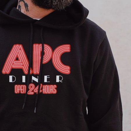 A.P.C. Benito Hoodie - Black
