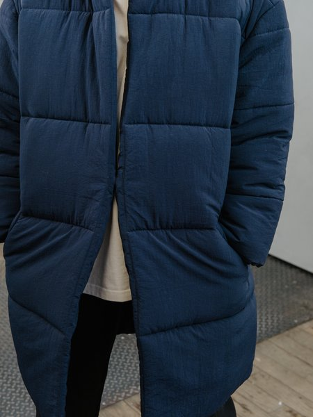 Priory Rare Earth Puffer - Blue