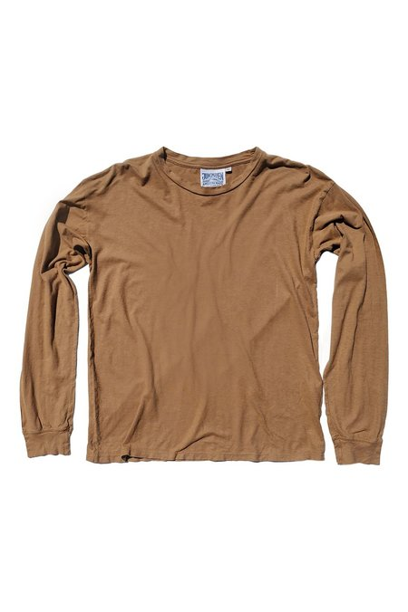 Unisex Jungmaven Atwater Long Sleeve Tee - Coyote