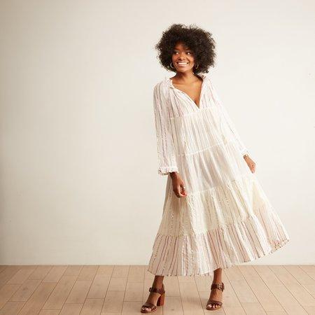 Guadalupe Elizabeth Long Dress - White