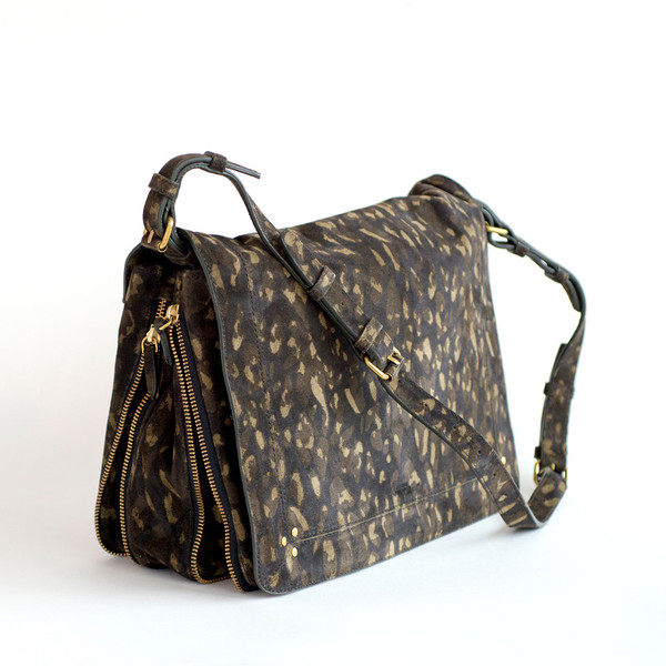 Jerome Dreyfuss Albert Kaki Leopard - SOLD OUT