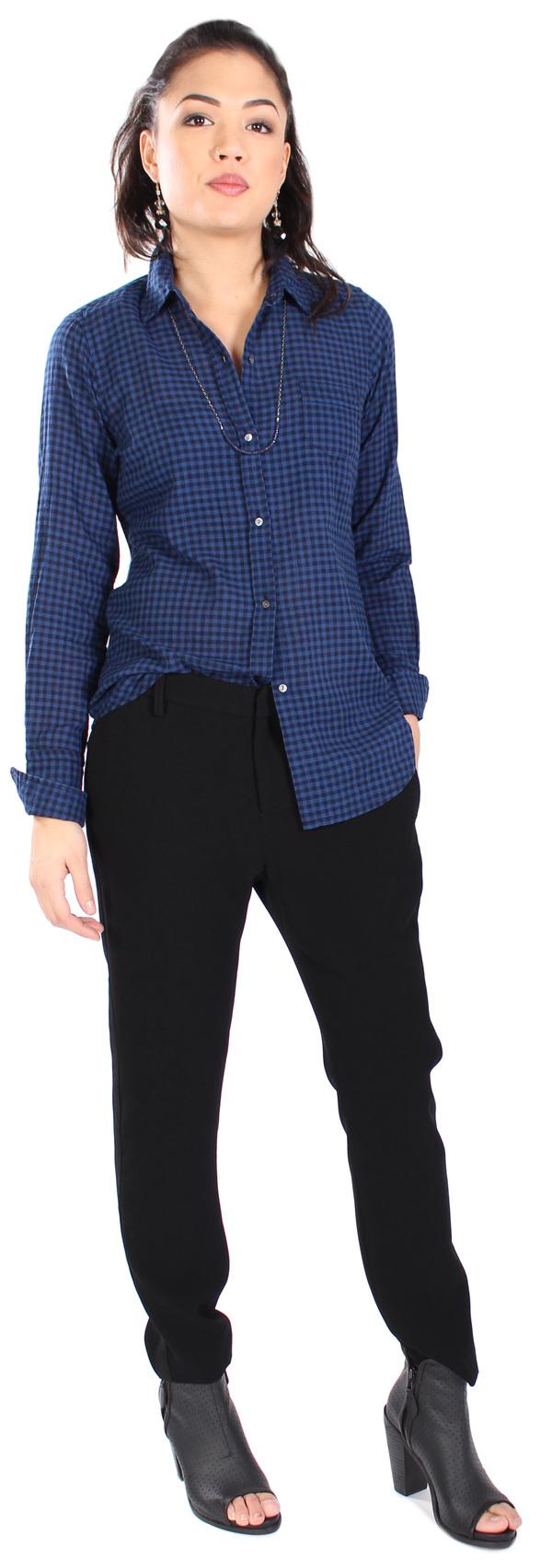 Nili Lotan Shirt Mini Check