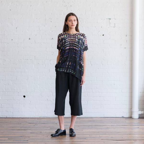 Megan Park Silk Midi Trouser