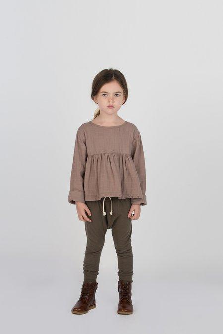 Kids Go Gently Nation Jersey Harem Pant - Charcoal