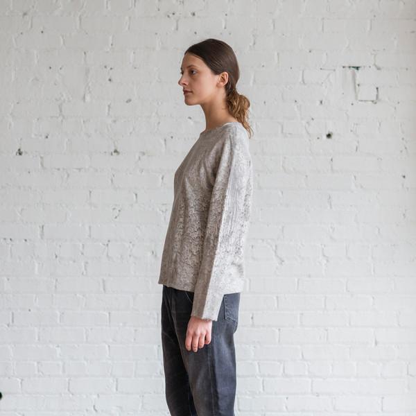 Raquel Allegra Inside Out Sweatshirt