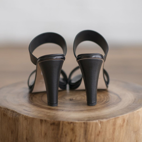 Woman by Common Projects Double Strap High Heel - SOLD OUT
