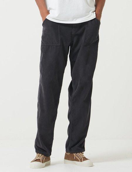 Stan Ray Fatigue Taper Cord Pant - Navy Blue