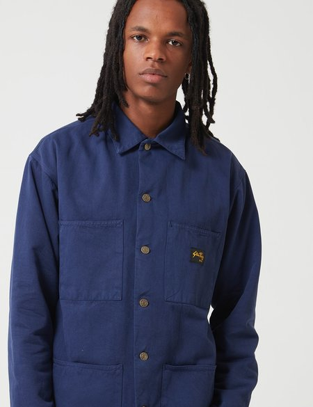 Stan Ray Lined Shop Jacket - Midnight Navy Blue