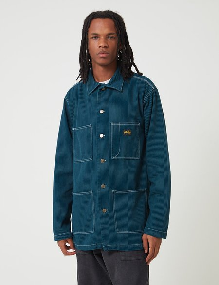 Stan Ray Shop Jacket - Carbon Green Hickory