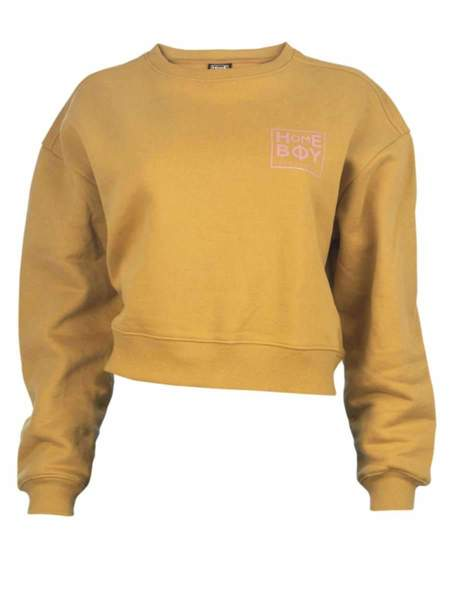 HOMEBOY HAILY SWEAT CREW NECK - GOLD