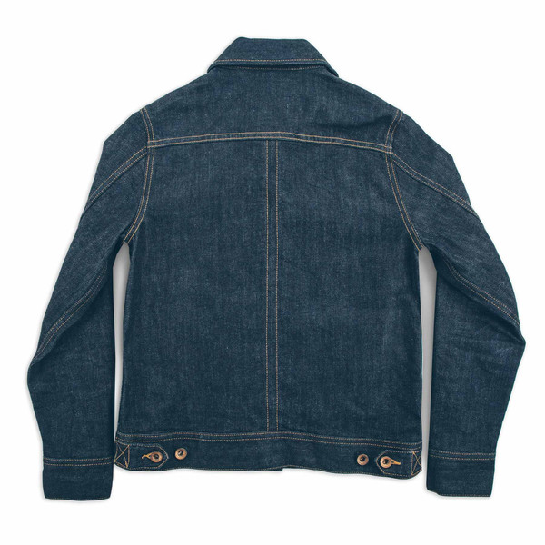 Taylor Stitch The Pacific Jacket in Cone Mills Stretch Selvage
