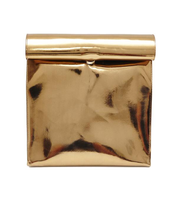 SMK Foldover Bag in Copper