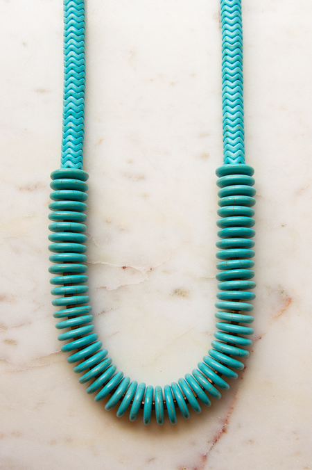 David Aubrey Inc Magnesite Necklace - Blue