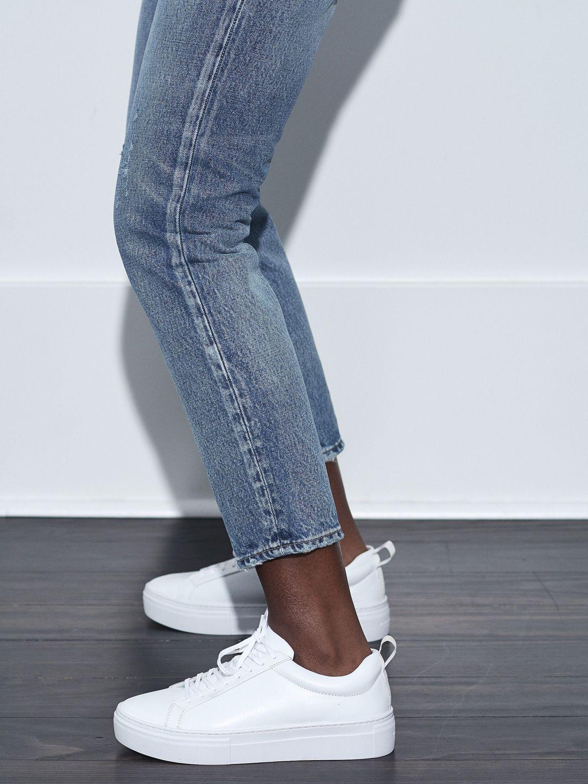 Vagabond Zoe Platform Sneaker - White