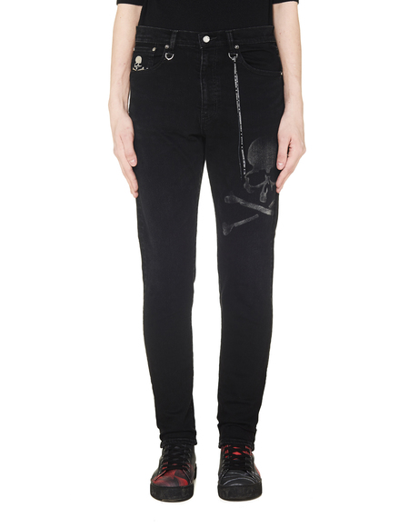 Mastermind WORLD Skull Jeans - Black